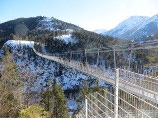 Hängebrücke Linz - vom Freinberg zum Pöstlingberg - Hängebrücke